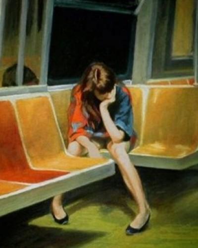 Αφιερωμένο σε αυτή τη δεσποινίδα που συνάντησα,πριν λίγες ώρες μάλιστα,στο μετρό