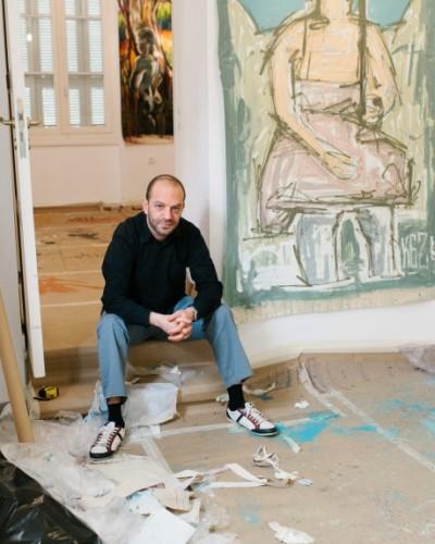 Η ιερή γνωριμία: 10 street artists «συνομιλούν» με τον κορυφαίο Έλληνα εξπρεσιονιστή ζωγράφο Γιώργο Μπουζιάνη