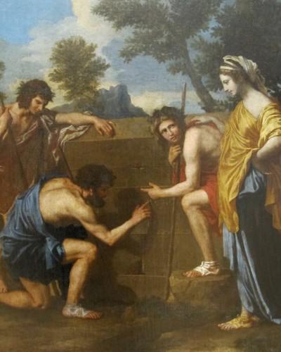 «Et in Arcadia ego ή et ego in Arcadia»;