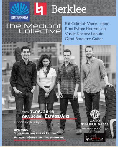 Συναυλία υπό την αιγίδα του Mediterranean Music Institute – Berklee