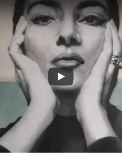 Μαρία Κάλλας: Ένα υπέροχο γκράφιτι στην Πάτρα