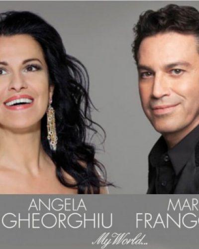 O Μάριος Φραγκούλης και η μεγαλύτερη σύγχρονη σταρ της όπερας Angela Gheorghiu στο Ηρώδειο στις 23 Σεπτεμβρίου 2017